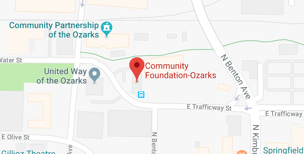 Google Map image of Community Foundation of the Ozarks